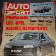 Coches: REVISTA AUTO HEBDO Nº 183 OPEL VECTRA FIAT TIPORALLYES FORMULA 1 COCHES AUTOMOVIL. Lote 39476660