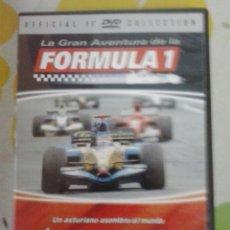 Coches: DVD LA GRAN AVENTURA DE LA FORMULA 1-LOS TITULOS MUNDIALES DE FERNANDO 2007. Lote 39530680