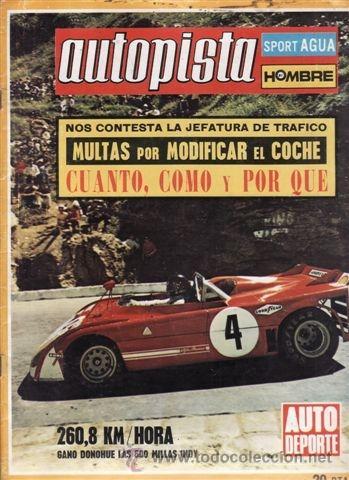 REVISTA AUTOPISTA Nº 695 AÑO 1972. PRUEBA: CITROEN DYANE 6 SUPER. IMP BUGGIE. (Coches y Motocicletas Antiguas y Clásicas - Revistas de Coches)