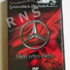 Coches: MERCEDES-BENZ LA HISTORIA DE LAS GRANDES MARCAS - DVD PRECINTADO - COCHES DOCUMENTAL COCHE MERCEDES. Lote 39635205