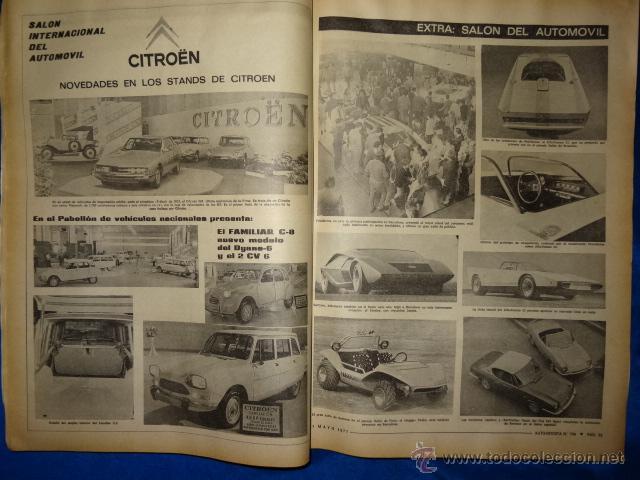 Coches: AUTO REVISTA 726 SEAT 124 1 MAYO 1971 EXTRA SALON INTERNACIONAL DEL AUTOMOVIL - Foto 3 - 39639854