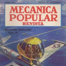 Coches: MECANICA POPULAR. ENERO 1954. 1954. REVISTA. NORMAL. Lote 39706414