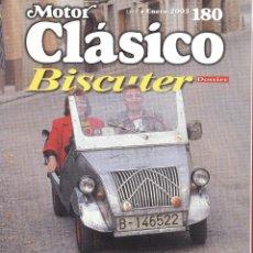 Coches: REVISTA MOTOR CLÁSICO- Nº 180 - ENERO 2003 - BISCUTER DOSSIER - 114PAG.. Lote 39731377