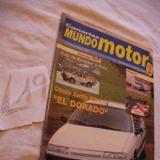Coches: ANTIGUA REVISTA CANARIAS MUNDO MOTOR - ENVIO GRATIS A ESPAÑA . Lote 39793260