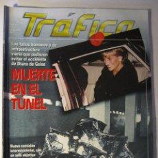 Coches: REVISTA TRAFICO Nº126 AÑO 1997 MUERTE EN EL TUNEL EL ACCIDENTE DE DIANA DE GALES. Lote 39778327