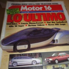 Autos - REVISTA AUTOMOVIL COCHES MOTOR 16 NUMERO 132 1986 THEMA FERRARI BERTONE ZABRUS ROVER 800 - 39897889
