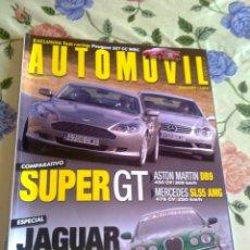 Coches: AUTOMOVIL Nº 324 ENERO 2005. SUPER GT. JAGUAR RACING TEST CENTER NÜRBURGRING. Lote 39917086