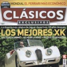 Coches: CLASICOS EXCLUSIVOS N. 78 - EN PORTADA: LOS MEJORES XK (NUEVA). Lote 164184993