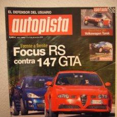 Coches: REVISTA AUTOPISTA Nº 2264 03/12/02 ESPAÑOL. Lote 209560508