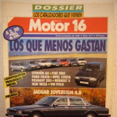 Coches: REVISTA MOTOR 16 Nº 317 18/11/89 ESPAÑOL. Lote 40566072