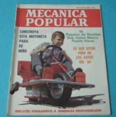 Coches: MECÁNICA POPULAR. NOVIEMBRE 1963. Lote 40677603