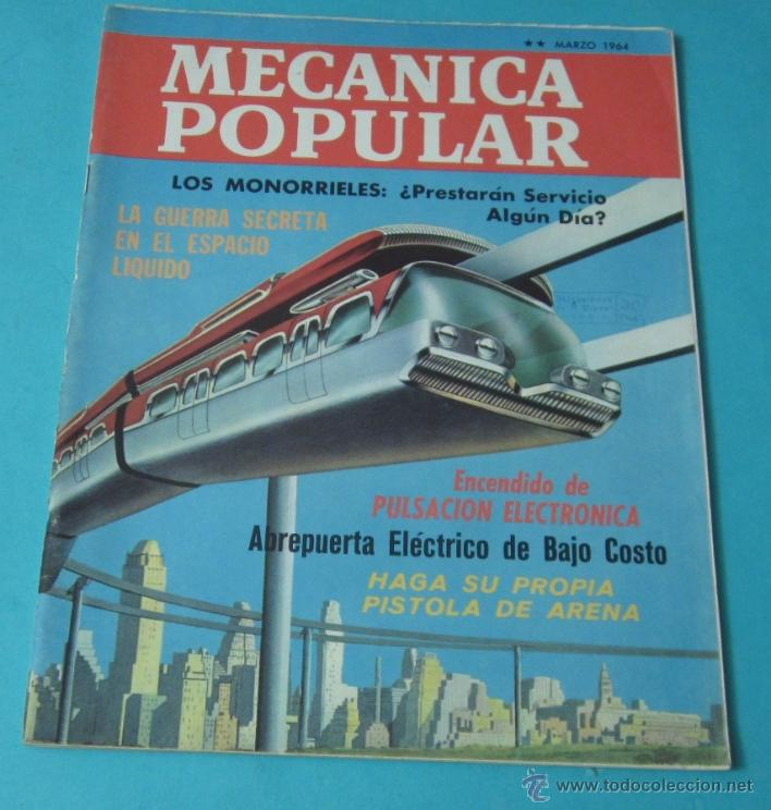 Coches: MECÁNICA POPULAR. MARZO 1964 - Foto 1 - 40677618