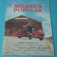 Coches: MECÁNICA POPULAR. FEBRERO 1966. Lote 40677632