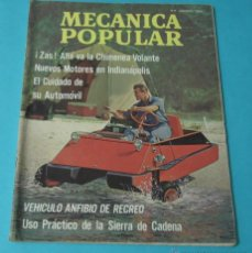 Coches: MECÁNICA POPULAR. AGOSTO 1966. Lote 40677635