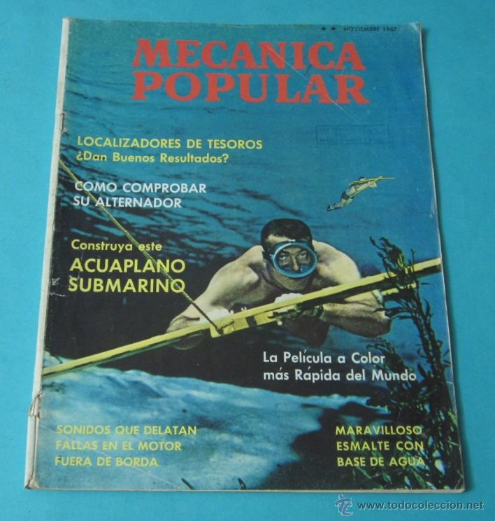 MECÁNICA POPULAR. NOVIEMBRE 1967 (Coches y Motocicletas Antiguas y Clásicas - Revistas de Coches)