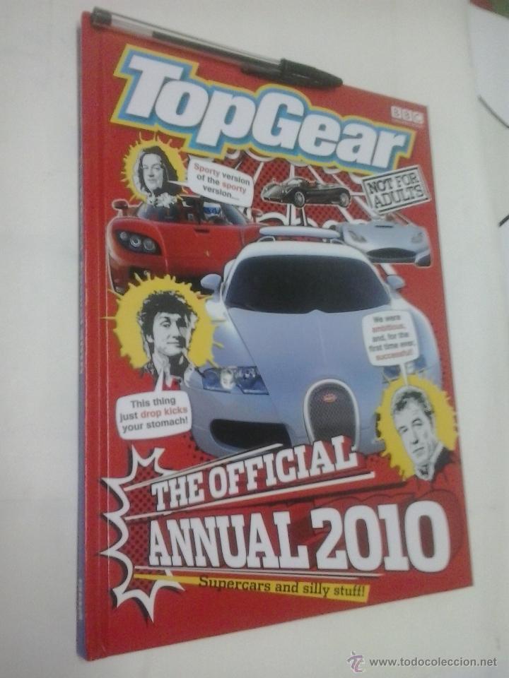LIBRO -TOP GEAR-THE OFFICIAL ANNUAL 2010-INGLES-BBC (Coches y Motocicletas Antiguas y Clásicas - Revistas de Coches)