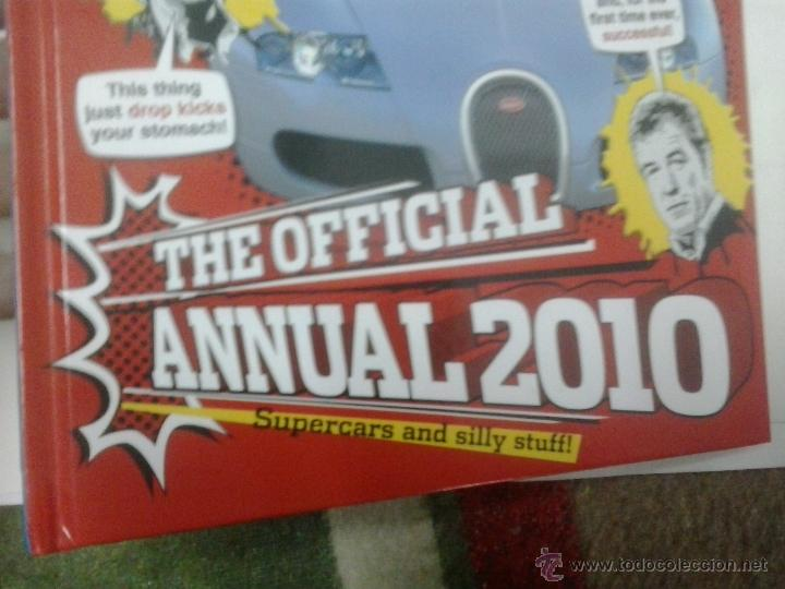 Coches: LIBRO -TOP GEAR-THE OFFICIAL ANNUAL 2010-INGLES-BBC - Foto 2 - 40872534