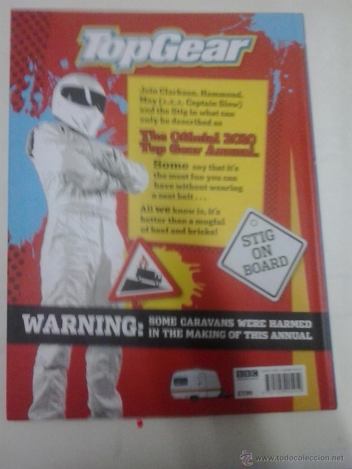 Coches: LIBRO -TOP GEAR-THE OFFICIAL ANNUAL 2010-INGLES-BBC - Foto 10 - 40872534
