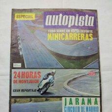 Coches: REVISTA ANTIGUA AUTOPISTA NUMERO ESPECIAL SCALEXTRIC 1967. Lote 40882256