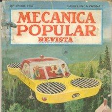 Coches: MECANICA POPULAR - SEPTIEMBRE 1957. Lote 40986382