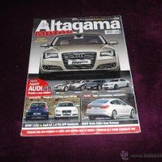 Auto: ALTAGAMA MOTOR Nº 87: AUDI A8, BMW SERIE 7, JAGUAR XJ, LEXUS LS, MERCEDES CLASE S, FERRAR 599 GTB. Lote 40995103