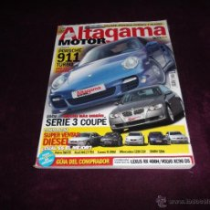 Coches: ALTAGAMA MOTOR Nº 43: PORSCHE 911 TURBO, BMW SERIE 3 COUPÉ,LEXUS IS VS BMW 320D,VOLVO S60 D5,AUDI A4. Lote 51406988