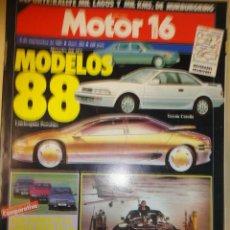 Coches: REVISTA MOTOR 16 NUMERO 202 5 SEPTIEMBRE 1987. Lote 41186155