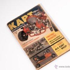 Coches: REVISTA DE KART DE NOVIEMBRE DEL AÑO 1960. Lote 41264555