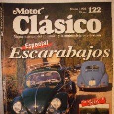 Coches: REVISTA MOTOR CLÁSICO Nº 122 MARZO 1998 ESPAÑOL. Lote 41342393
