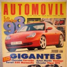 Coches: REVISTA AUTOMOVIL Nº 237 OCTUBRE 1997 ESPAÑOL. Lote 41343450
