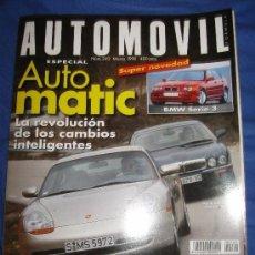 REVISTA AUTOMOVIL Nº 242 BMW SERIE 3 COCHES AUDI A8 SEAT AROSA AUTOMOVIL FORMULA 1 RALLYE