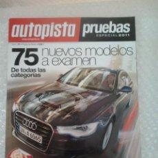 Coches: AUTOPISTA PRUEBAS ESPECIAL 2011. Lote 41448550