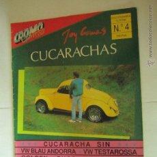 Coches: CROMO FUEGO Nº4 AÑO 1990 CUCARACHAS ESCARABAJO. Lote 39548558