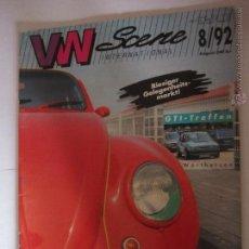 Coches: VW SCENE AÑO 1992 VOLKSWAGEN POLO GOLF ESCARABAJO. Lote 39548663