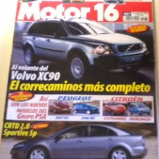 Coches: MOTOR 16 - 987 - 2002. Lote 41485713