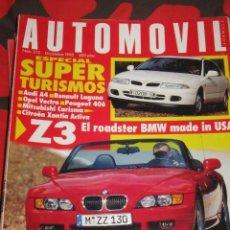 REVISTA AUTOMOVIL Nº 215 BMW Z 3 CITROEN SAXO AUDI A4 COCHES FORMULA 1 RALLYE