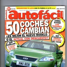Coches: AUTOFACIL Nº 78 ** ABRIL 2007. Lote 41568510