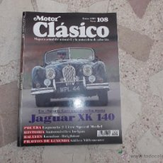 Voitures: MOTOR CLASICO Nº 108, JAGUAR XK-140, LAGONDA 2 LITRE SPEED (1930), DIGNOS ARTESANOS BELGAS II. Lote 58487149