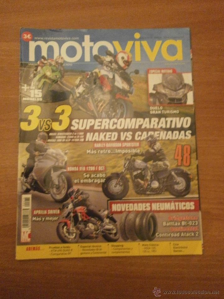 REVISTA MOTO VIVA - Nº 75- (Coches y Motocicletas Antiguas y Clásicas - Revistas de Coches)