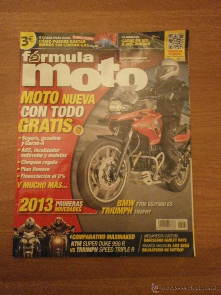 REVISTA FORMULA MOTO - Nº 92- AGOSTO 2012- (Coches y Motocicletas Antiguas y Clásicas - Revistas de Coches)