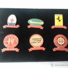 Coches: 6 PINS- CONTRUCTORES CAMPEONES DE LA FORMULA 1 -. Lote 42867881