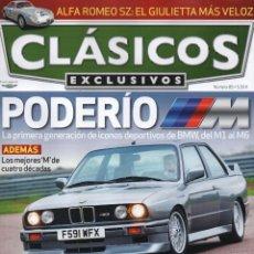 Coches: CLASICOS EXCLUSIVOS N. 85 - EN PORTADA: ICONOS DEPORTIVOS DE BMW (NUEVA). Lote 164185792