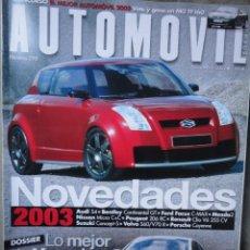 Autos - REVISTA AUTOMOVIL FORMULA NUMERO 298 NOVIEMBRE 2002 - 42934723