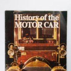 Coches: ANTIGUA REVISTA HISTORY OF THE MOTOR CAR, ESCRITA EN INGLES. Lote 43221299