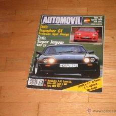 Coches: REVISTA AUTOMOVIL. Nº127. AGOSTO 1988.. Lote 43385174