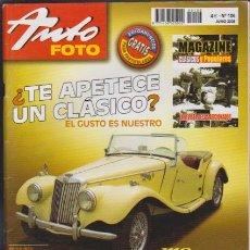 Coches: AUTO FOTO - Nº 106 JUNIO 2005. Lote 43885396