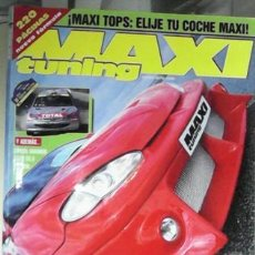 Coches: MAXI TUNING Nº 37, MAYO 2001. Lote 45259088