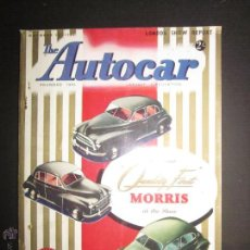 Coches: THE AUTOCAR - 23 OCTOBER 1953 - CATALOGO DE COCHES - EDICION ESPECIAL - VER FOTOS. Lote 45537073