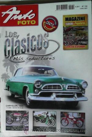 AUTO FOTO Nº 130, JUNIO 2007 (Coches y Motocicletas Antiguas y Clásicas - Revistas de Coches)