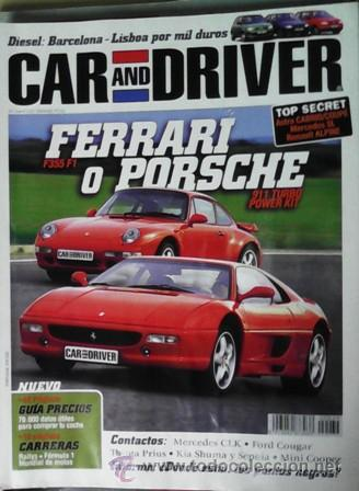 Coches: Car and Driver nº 34, julio 1998 - Foto 1 - 45564862